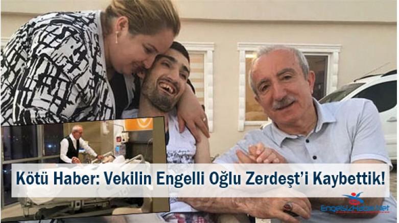 AK Parti Mardin Milletvekilinin Engelli Oğlu Hayatını Kaybetti!