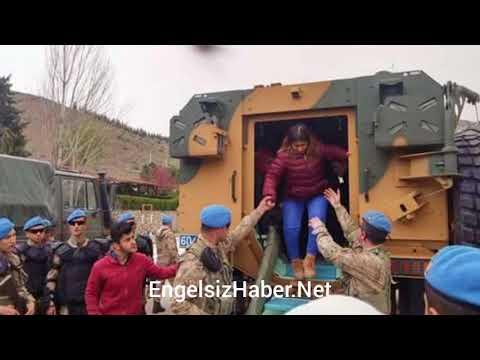 Engelli Öğrencilerden Afrin'deki Operasyona Destek...